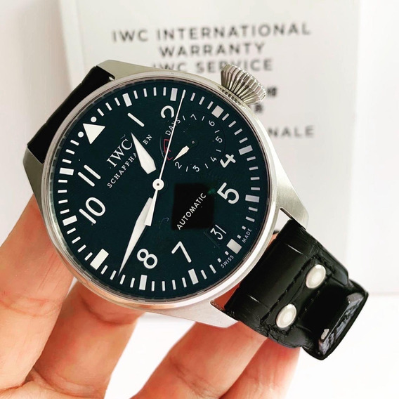 Iwc Big Pilot & Days Power Reserve 46mm Completo