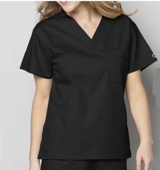Conjunto De Uniforme Quirúrgico Negro Doctor Médico