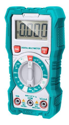 Multimetro Digital Para Corriente Ac/dc Tmt46001 Total Tools