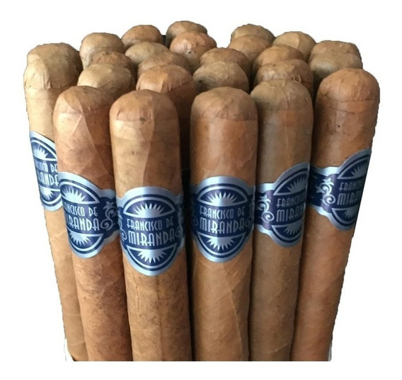 Francisco Miranda Robustos Pack X5 Cigarros Dominica Robusto