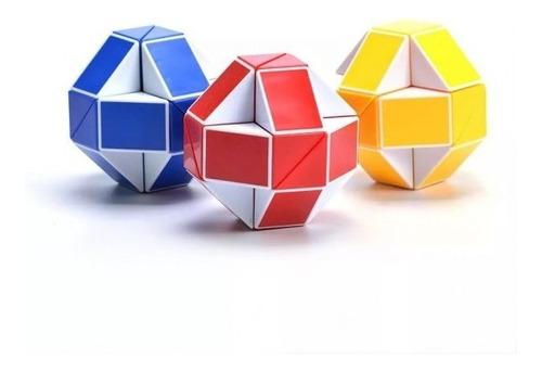 Imagen 1 de 6 de Cubo Magico Tipo Rubik Magic Snake Serpiente Movediza
