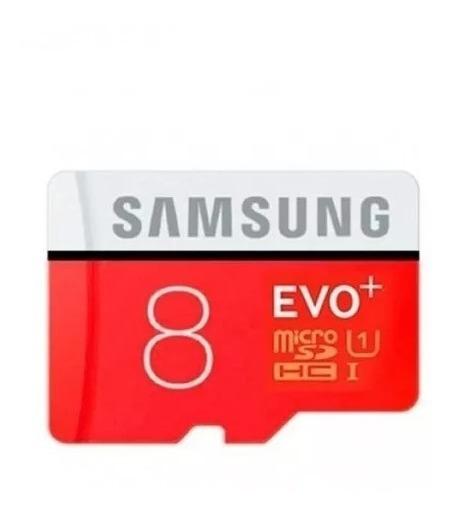 Cartão Micro Sd Samsung 8gb Evo Class 10 Smartphone