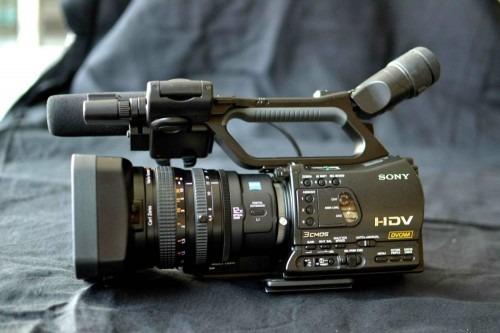 Filmadora Hdv Portátil Sony Hvr-z7n