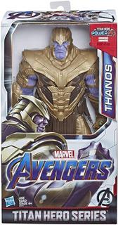 Muñeco Thanos Marvel Avengers End Game Titan Hero