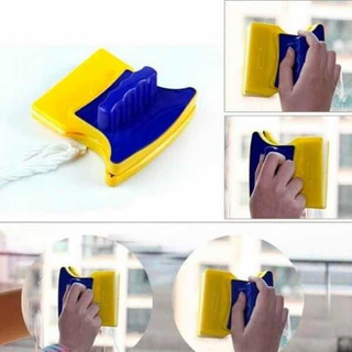 Limpia Vidrios Ventana Magnetico Imantado Doble Limpia Facil