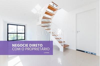 Cobertura Duplex, 2 Quartos, À Venda Na Tijuca - Rj - Co0018