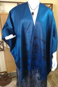 Poncho/ Blusa/casaco De Frio Importado Índia C77