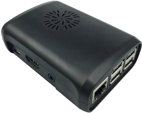 Kit Raspberry Pi 3 B+ C/ Fonte, Case, Cooler E Dissip. Hdmi