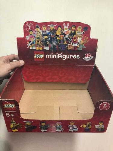 Lego Caja Original Exhibidor Para Minifiguras Serie 16 Unica