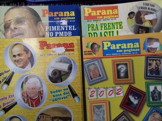 Revista Paraná Em Páginas - Complete Sua Coleção