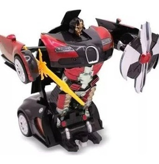 Carro Convertible En Robot ( Transformers )