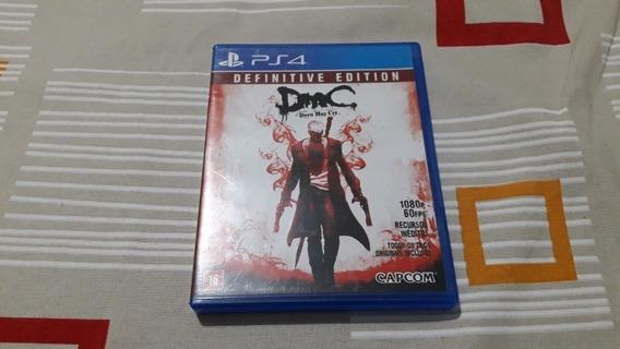 Ps4 Devil May Cry Definitiva Edition Funcionando 100% #313