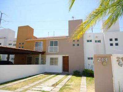Renta Casa 3 Recamaras Villa Palmira Club Cerca Bernardo Qui