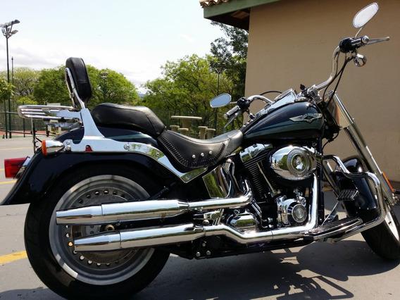Harley Davidson - Softail Fat Boy Flstf 15.800km - Impecavel