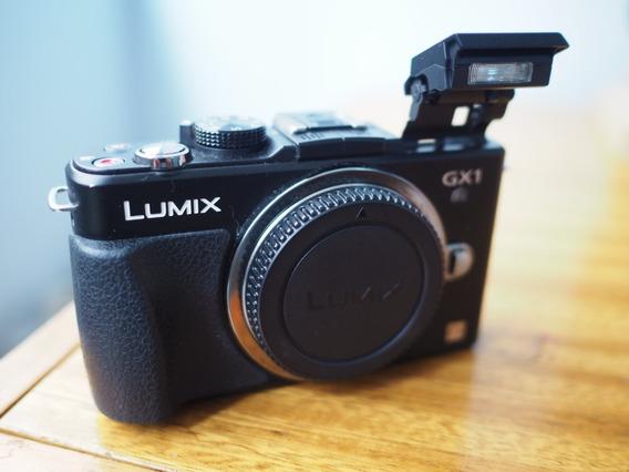 Panasonic Lumix Dmc Gx-1 - Corpo, Maleta, Duas Baterias.