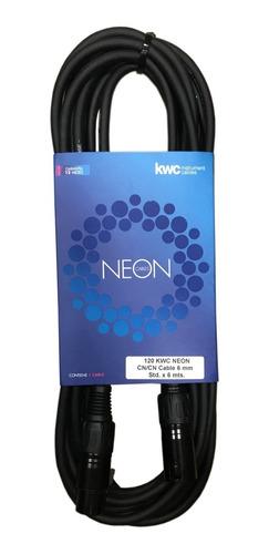 Imagen 1 de 2 de Cable Canon-canon Kwc Neon 120 De 6 Metros
