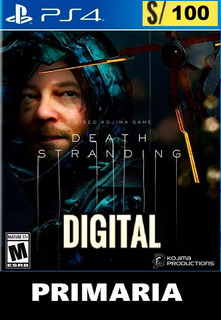 Death Stranding Ps4 Digital Primaria