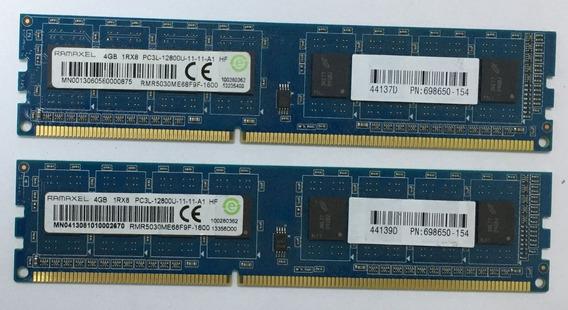 Memoria Ddr3 - Un Modulo De 4gb 1600mhz 1rx8