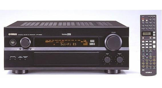 Receiver Yamaha Htr-5590 - 6.1 - 6 Canais De 100 Watts Cada