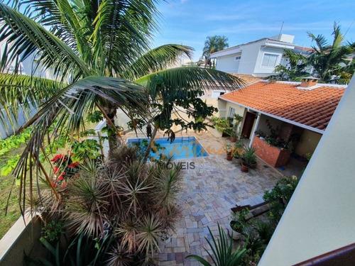 Lindo Sobrado Com 3 Dormitórios À Venda, 244 M² Por R$ 1.280.000 - Residencial Paineiras - Paulínia/sp - Ca2378