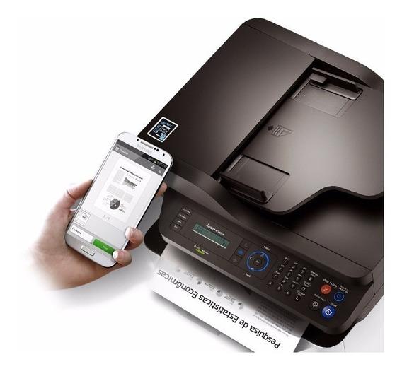Multifuncional Monocromática Samsung Sl-m2885fw/xab. Wi-fi.