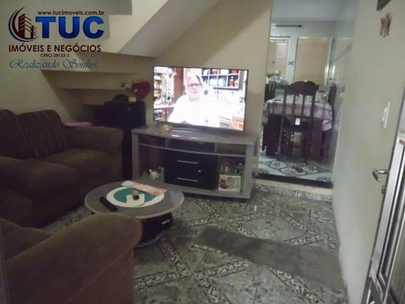 Sobrado 4 Dorms 1 Vg-ac Financiamento -casa Grande-diadema - 7047