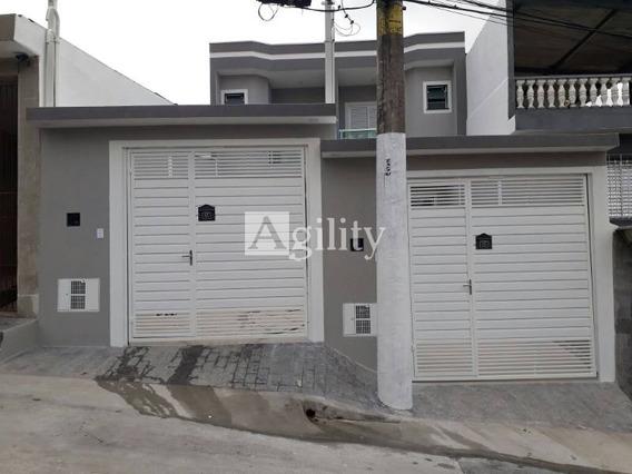 Amplo Sobrado Frontal Para Venda No Bairro Vila Rui Barbosa Próx. A Tiquatira, 80m Muito Bem Construído, Com Quintal, 2 Dorm, 2 Suíte, 2 Vagas, 80 M, 77 M - 7286