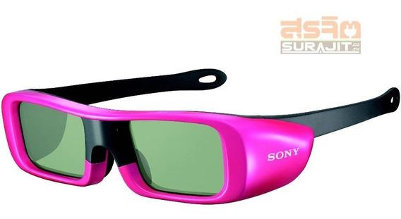 Oculos Sony 3d Tgd-br50 Rosa Para Tv Sony Bravia Hdtv