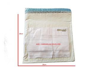 Envelope Segurança Com Plastico Bolha 26x26 + Awd 100 Un