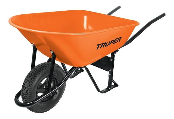 Carretilla Naranja 8 Ft Reforzada Truper 11249