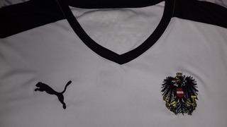 Camisa Da Seleção Da Áustria - Tam. G Original Puma