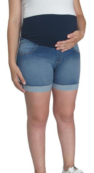 Kit Calça Jeans + Short Jeans Gravida Gestante - Toppissimo!