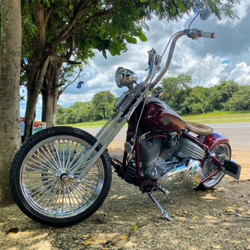 Imagem 1 de 7 de Harley Davidson - Rocker Customizada