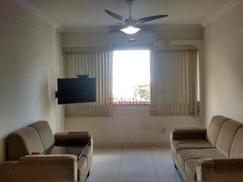 Apartamento Com 2 Dormitórios À Venda, 105 M² Por R$ 475.000,00 - Gonzaga - Santos/sp - Ap0106