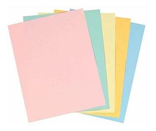 Grapas - Papel De Copia De Colores Pastel 85 X 11 Pulgadas T