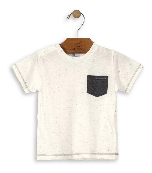 Camiseta Manga Curta Menino Up Baby