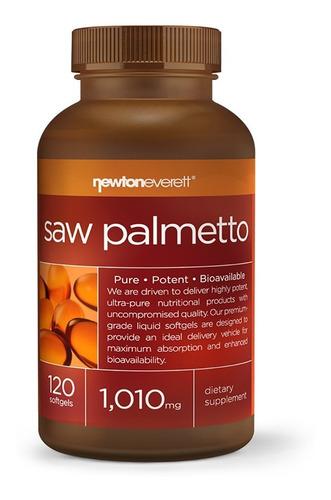Saw Palmetto Importado, 1010mg Por Dose - 120 Caps