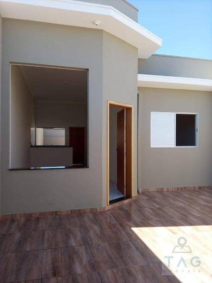 Casa Para Venda Tem 73 Metros Quadrados No Jardim Boer Ii Em Americana - Sp. - Ca0305