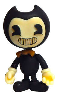 Bendy And The Ink Machine Figura Articulada 2 Caras Luz Led