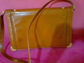 Bolsa Christian Dior Em Couro Caramelo- Usada- Retrô-leiam