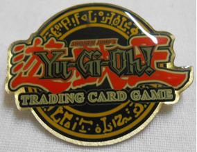 Pin Boton Yu-gi-oh Trading Card Game 1996 Upper Deck 4cm