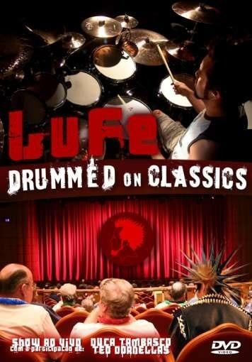 Dvd Bateria Lufe Drummed On Classics Autografado