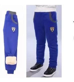 Pantalon Niño Afelpado Super Caliente Para Invierno