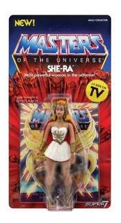 Figura She-ra Vintage Super 7 Motu He-man Wave 1 Neo Adr