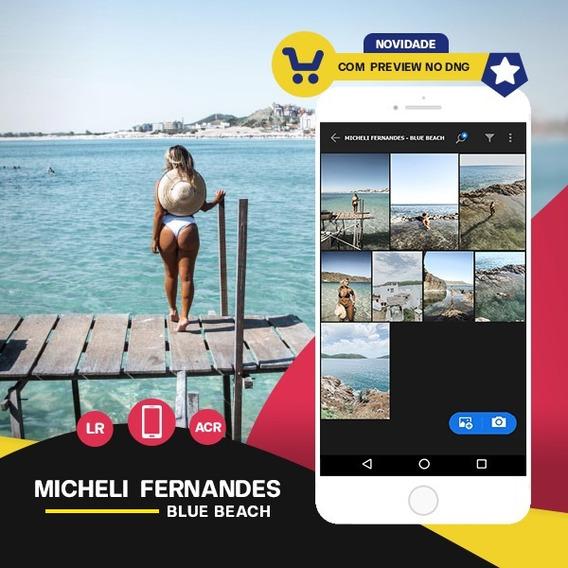 Micheli Fernandes - Blue Beach Presets Lr + Acr + Mobile