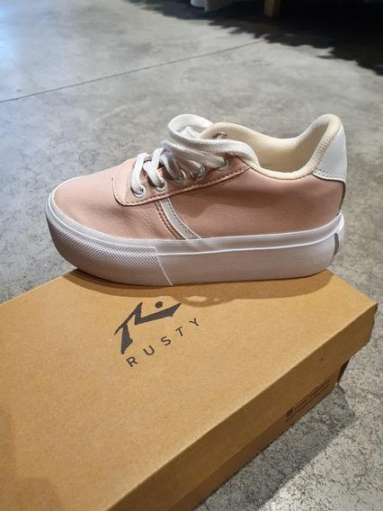 Zapatillas Niña Rusty Superhigh Light Pink
