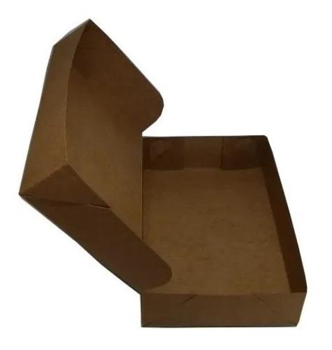 Imagem 1 de 3 de Caixa De Presente Kraft C/20 Unidades 15x12,5x5 - Para Lojas