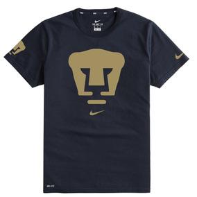Playera O Camiseta Nike Pumas Azul Marino Hombre