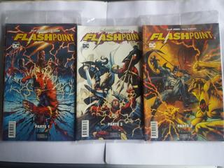 Flashpoint Dc Colección 9 Revistas