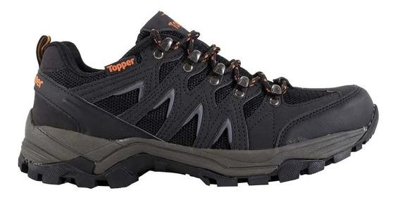 Zapatillas Topper Gondor Trekking Negro Naranja 29109